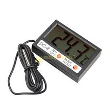 Auto Car LCD Digital Display Thermometer Indoor Outdoor Temperature Measure Hot