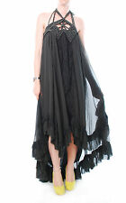 Free People Spring Awakening Maxi Dress Charcoal Size S BCF57
