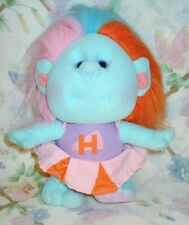 "VINTAGE 1989 HOBNOBBINS 9"" STUFFED CLOTH CHEERLEADING TROLL DOLL COUSIN RAH RAH"