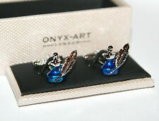 Mens Novelty Cufflinks - Quill & Ink Pot Design *NEW* Boxed