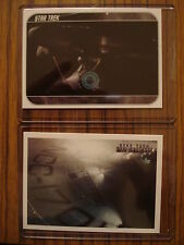 STAR TREK MOVIES (2014): CASE TOPPER CHASE CARD SET CT1 & CT2