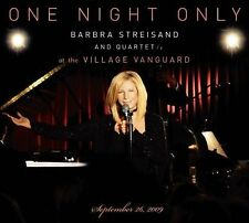 One Night Only Live [Digipak] by Barbra Streisand (CD, May-2010, 2 Discs, Columb