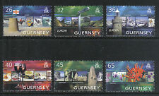 Guernsey 2004 Europa/Vacations--Attractive Tourism Topical (832-37) MNH
