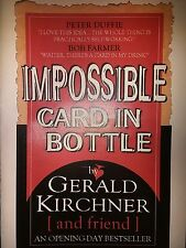 CARD IN BOTTLE IMPOSSIBLE Gerald Kirchner Magic Trick