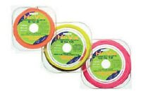 MIDDY HI-VIZ SOLID POLE ELASTIC *5 x METRE SPOOL & 1 x METRE FREE ! * 8 SIZES