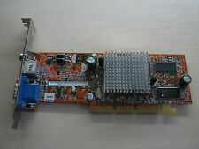 ASUS ATI Radeon 9200SE AGP 64MB DDR VGA/TV-Out Graphics video card TEST OK!