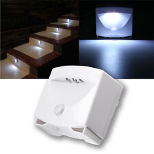 Mighty Light LED Motion Sensor Activated Night Light Indoor & Outdoor Lamp
