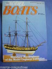 MODEL BOATS APRIL 1986 APRIL 1986 AQUAGAS PLAN IFIT 6 COUNTY CLASS CRUISER