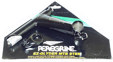 Peregrine Old School Black MTB Stem W/ Cable Hanger NEW! 135mm