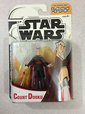 STAR WARS CLONE WARS CARTOON NETWORK COUNT DOOKU