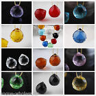 1/5pcs Multicolour 20mm Prism Teardrop Ball Finding Charm Crystal Pendant Beads