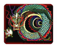 Curled Chinese Dragon Mouse Mat - Fantasy/Myth