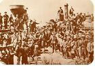 Last Spike Railroad Ceremony-Golden-Promontory-Utah-Old West Modern Postcard