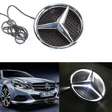 Illuminated LED Front Grille Grill Star Emblem Light for Mercedes Benz 2011-2015