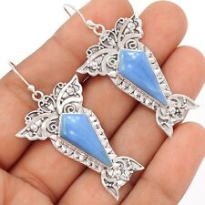 Sacred Angel Wings - Owyhee Opal 925 Silver Earrings SE106191