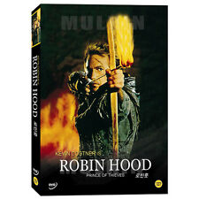 ROBIN HOOD PRINCE OF THIEVES (1991) DVD - Kevin Costner (*New *All Region)