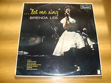 BRENDA LEE - LET ME SING - LP BRUNSWICK UK MONO 1963*First Issue *MINT