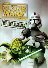 Star Wars: The Clone Wars - The Lost Missions (DVD, 2014, 3-Disc Set) EXCELLENT
