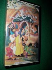 GREEK VHS SNOW WHITE AND THE SEVEN DWARFS Vintage Tape-RARE VERSION FROM GREECE