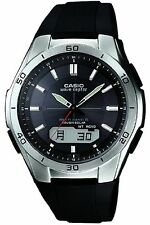 Casio Men's WVA-M640-1AER Quartz Solar Powered Radio Controlled Combi Watch