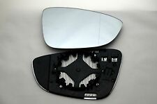 VW PASSAT  2009+ WING MIRROR GLASS ASPFERIC HEATED RIGHT
