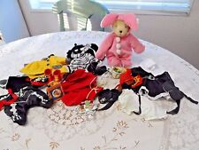 Lot of Muffy Vanderbear Bear and Clothes Easter Halloween Thanksgiving Rainy Day