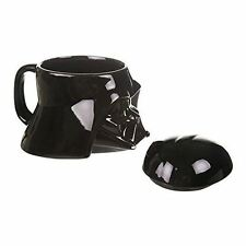Official Star Wars Darth Vader Helmet Design 3D Ceramic Mug - Boxed Gift Black