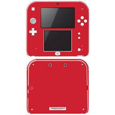 Vinyl Skin Decal Cover for Nintendo 2DS - Simply Red