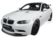 BMW M3 GTS ALPINE WHITE 1/18 DIECAST MODEL CAR BY KYOSHO 08739