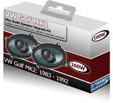 "VW MK2 Golf Rear Hatch Speakers Mac Audio 4x6"" Speaker"
