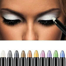 Pro Highlighter Eyeshadow Pencil Cosmetic Glitter Eye Shadow Eyeliner Pen #3