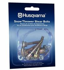 Husqvarna Shear Pins 6-Pack Snow Blower FREE SHIPPING Snowblower Thrower Pack