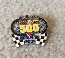 FOOD CITY 500 MARCH 28 , 2004 BRISTOL MOTOR SPEEDWAY NASCAR TRACK EVENT PIN