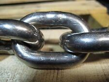 "3/8"" Link 304 Stainless Steel Anchor Chain"