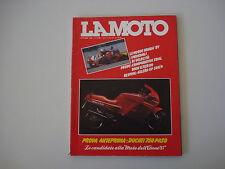 LA MOTO 10/1986 DUCATI PASO 750/BMW K 75/R 80/BETA TR 33/FANTIC 301/GARELLI 323