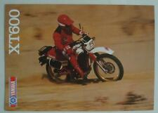 YAMAHA XT600 Motorcycle Sales Brochure c1984 #LIT-3MC-0107785-84E