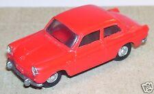 OLD 1960 MICRO EKO HO 1/86 1/87 MADE IN SPAIN VW VOLKSWAGEN 1500 ROUGE