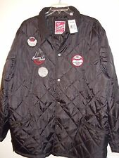 Mens Size 2XL BLACK QUILTED LIGHTWEIGHT JACKET w/SNAPS ( NWT ) by ENYCE  New !