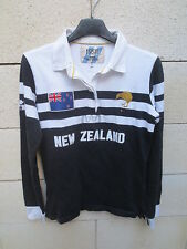 Polo SERGE BLANCO 15 1958 NEW ZEALAND shirt Nouvelle Zélande S / M coton
