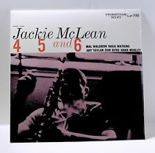 JACKIE MCLEAN 4, 5 And 6 VINYL LP Sealed Hank Mobley Donald Byrd