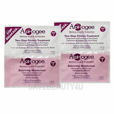 2Pks Aphogee Two Step Protein Treatment 1oz & Balancing Moisturizer 0.75oz Combo