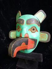 """Transformation Echo mask"""" by Andy ( Haddon) Bruce Tsimshian Nation Red cedar"""