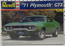 1971 71 PLYMOUTH GTX ROADRUNNER 440-6 AIR GRABBER MOPAR NOS F/S REVELL MODEL KIT