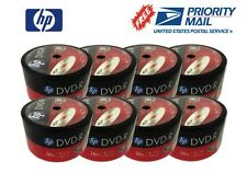 400-Pack HP 16X Logo Blank DVD-R DVDR Recordable Disc FREE EXPEDITED SHIPPING