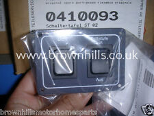 HYMER MOTORHOME STEP / AWNING LIGHT CONTROL SWITCH 1996 - 2000