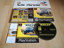 PLAY STATION PSX PS1 COLIN MCRAE RALLY BESTSELLERS COMPLETO PAL ESPAÑA