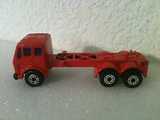 "1976 MATCHBOX SUPERFAST MERCEDES CONTAINER TRUCK 3"" L 1:100"