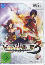 """ Samurai Warriors 3 "" (Wii)"