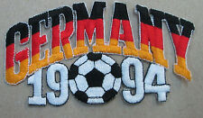 GERMANY COLLECTABLE RARE VINTAGE PATCH EMBROIDED 1994 OLYMPIC SOCCER WORLD CUP