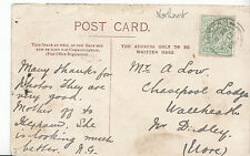 Genealogy Postcard - Family History - Low - Wallheath - Near Dudley   BH4534